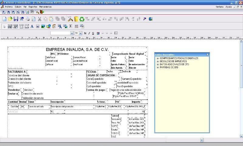 Expert Reportes QR2 – Diseño de Editor Reportes o Formatos QR2 ...